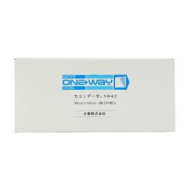 セコンダーゼ3042 200枚入   不織布ガーゼ 介護 ネイル 大衛 アメジスト 病院 日本製 ストマ 褥創床ずれ