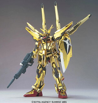 Mobile Suit Gundam SEED Destiny 1/100 Akatsuki Gundam Oowashi Pack/Shiranui Pack Full Set Plastic Model(Back-order)(機動戦士ガンダムSEED DESTINY 1/100 アカツキガンダム オオワシパック/シラヌイパック フルセット プラモデル)