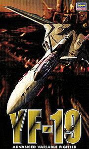 マクロスプラス 1/72 YF-19 プラモデル(再販)[ハセガワ]《取り寄せ※暫定》