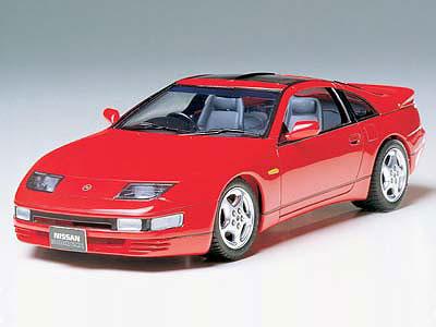 1/24 スポーツカーシリーズ No.87 ニッサン フェアレディZ 300ZX ターボ プラモデル[タミヤ]《取り寄せ※暫定》