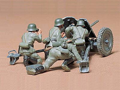 1/35 ミリタリーミニチュアシリーズ No.35 ドイツ 37mm対戦車砲 プラモデル[タミヤ]《取り寄せ※暫定》