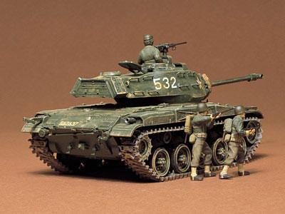 1/35 ミリタリーミニチュアシリーズ No.55 アメリカ軽戦車 M41 ウォーカーブルドック プラモデル[タミヤ]《取り寄せ※暫定》