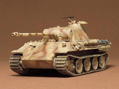 1/35 ミリタリーミニチュアシリーズ No.65 ドイツ パンサー中戦車 プラモデル[タミヤ]《取り寄せ※暫定》