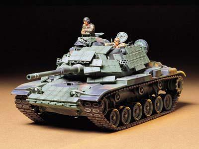 1/35 ミリタリーミニチュアシリーズ No.157 アメリカ戦車 M60A1 リアクティブアーマー プラモデル[タミヤ]《取り寄せ※暫定》