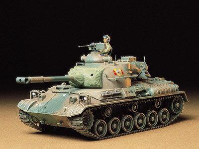 1/35 ミリタリーミニチュアシリーズ No.163 陸上自衛隊 61式戦車 プラモデル[タミヤ]《取り寄せ※暫定》