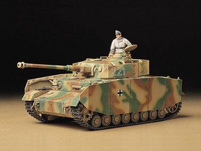 1/35 ミリタリーミニチュアシリーズ No.209 ドイツ IV号戦車H型 (初期型) プラモデル(再販)[タミヤ]《取り寄せ※暫定》