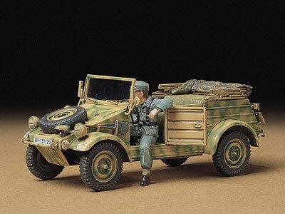 1/35 ミリタリーミニチュアシリーズ No.213 ドイツ Pkw.K1 キューベルワーゲン82型 プラモデル[タミヤ]《取り寄せ※暫定》