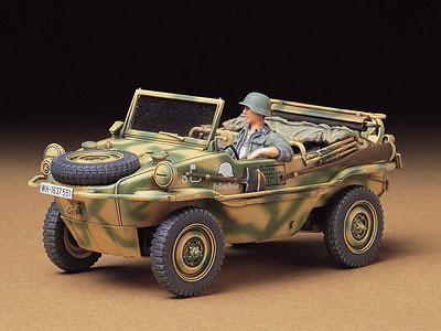 1/35 ミリタリーミニチュアシリーズ No.224 Pkw.K2s シュビムワーゲン166型 プラモデル[タミヤ]《取り寄せ※暫定》