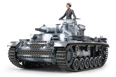 1/35 ミリタリーミニチュアシリーズ No.290 ドイツ III号戦車N型 プラモデル[タミヤ]《取り寄せ※暫定》