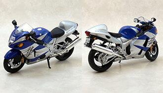 Complete Motorcycle Model 1/12 Suzuki GSX1300R Hayabusa (Blue)(Back-order)(1/12 完成品バイク スズキ GSX1300Rハヤブサ(ブルー))