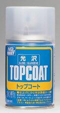 水性スプレー Mr.トップコート光沢[GSIクレオス]《発売済・在庫品》
