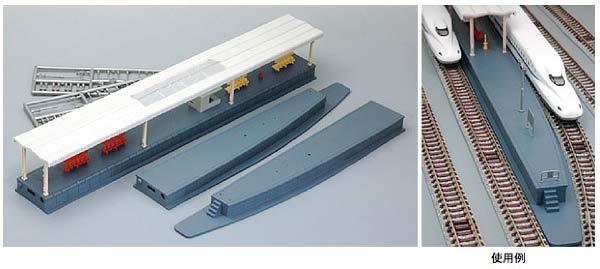 4067 島式ホームセット (近代型)大型用(再販)[TOMIX]《取り寄せ※暫定》