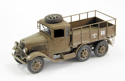 プラモデル 1/35 帝国陸軍 九四式六輪自動貨車 箱型運転台モデル(ハードトップ)(再販)[ファインモールド]《取り寄せ※暫定》