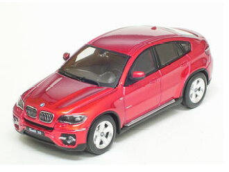 Absolute Hot Diecast Miniature Car 1/64 BMW X6 Red (Released)(アブソリュートホット ダイキャスト製ミニチュアカー 1/64 BMW X6(E71) レッド)