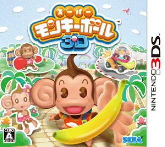 3DS Super Monkey Ball 3D (Back-order)