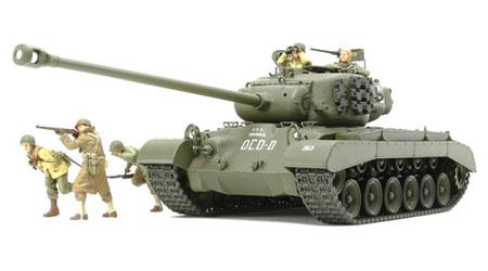 1/35 ミリタリーミニチュアシリーズ No.319 アメリカ戦車 スーパーパーシング T26E4 プラモデル[タミヤ]《取り寄せ※暫定》
