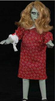 Night Of The Living Dead/ Karen Cooper Mego-Style  Complete Figure(Back-order)