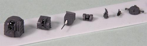1/700 ネオ イクイップメントシリーズ 日本海軍艦船装備セット(3) プラモデル(再販)[ピットロード]《取り寄せ※暫定》