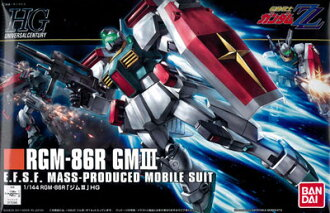 HGUC 1/144 GM III Plastic Model(Released)(HGUC 1/144 ジムIII プラモデル)