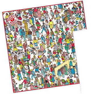 WHERE'S WALLY? Handkerchief/ Mall(Released)(WHERE'S WALLY?(ウォーリーをさがせ!) ハンカチ/デパート)
