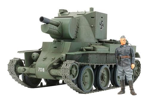 1/35 ミリタリーミニチュアシリーズ No.318 フィンランド軍突撃砲 BT-42 プラモデル(再販)[タミヤ]《取り寄せ※暫定》
