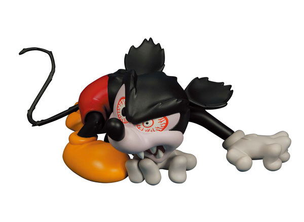 ウルトラディテールフィギュア No.129 ミッキーマウス(ランナウェイブレインより)(再販)[メディコム・トイ]《発売済・在庫品》