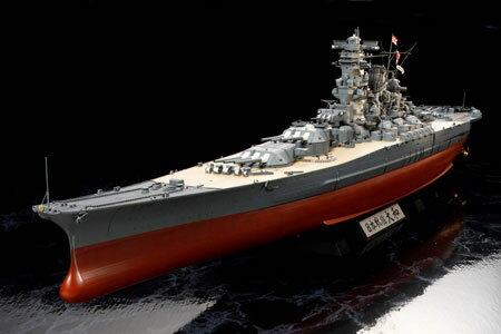 1/350 艦船シリーズ No.25 日本戦艦 大和 プラモデル[タミヤ]《発売済・在庫品》