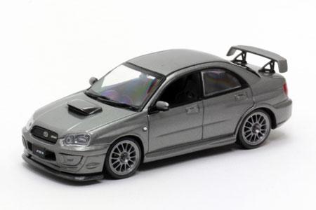 CARNEL 完成品モデルカー 1/43 スバル インプレッサ S203 2005 クリスタルグレーメタリック[ヒコセブン]《取り寄せ※暫定》