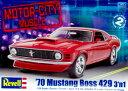1/24 '70 マスタング BOSS 429 3'n1 プラモデル(再販)[アメリカレベル]《取り寄せ※暫定》