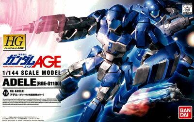 HG 1/144 アデル(ディーヴァ所属部隊カラー) プラモデル 『機動戦士ガンダムAGE』より(再販)[バンダイ]《発売済・在庫品》