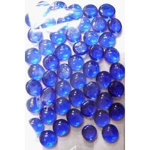 タブレット(おはじき型カウンター) 50ヶ コバルトブルー[ニシノ]《発売済・在庫品》