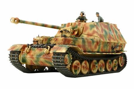 1/35 ミリタリーミニチュアシリーズ No.325 ドイツ重駆逐戦車 エレファント プラモデル[タミヤ]《取り寄せ※暫定》