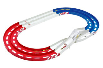 Mini 4WD Course - Oval Form 3D Lane Change  (Tricolour)(Released)
