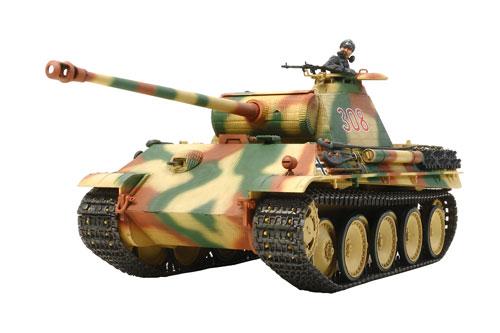 1/35 戦車シリーズ(シングル) No.55 ドイツ戦車 パンサーG初期型 (シングルモーターライズ仕様) プラモデル[タミヤ]《取り寄せ※暫定》