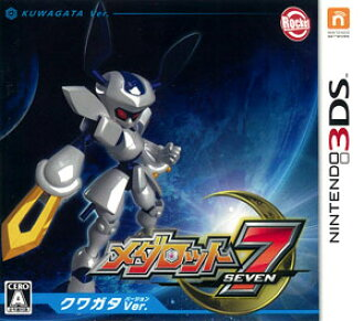 3DS Medabots 7 Kuwagata Ver.(Back-order)(3DS メダロット7 クワガタVer.)
