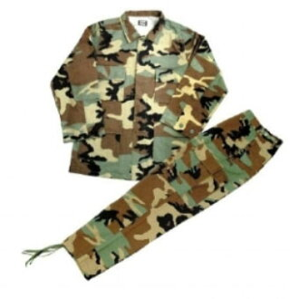 BDU Jacket & Pants Set (USA Army Camouflage) M(Back-order)(BDUジャケット&パンツ・セット(USA ARMY・カモ)M)