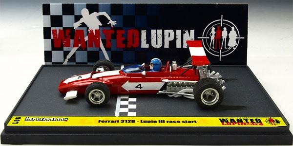 ブルム ダイキャスト完成品 1/43 フェラーリ 312B ルパン三世 「WANTED」 スタート ルパン アクション フィギュア付き[ブルム]《取り寄せ※暫定》