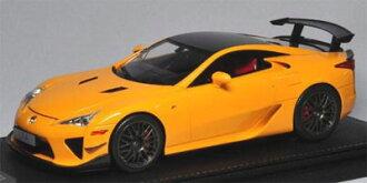 Peako Resin Miniature Model 1/18 Lexus LFA Nurburgring Package Orange/ Carbon Roof(Back-order)(ピーコ レジン製ミニチュアモデル 1/18 レクサス LFA ニュルブルクリンクパッケージオレンジ/カーボンルーフ)