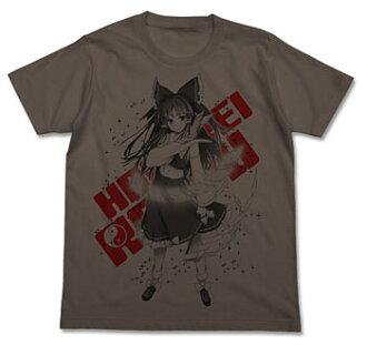 Touhou Project - Reimu Hakurei Touhou Kontonfu T-shirt/ CHARCOAL - M