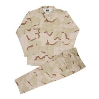 BDU Jacket & Pants Set (Desert) (L Size)(Back-order)(BDUジャケット&パンツセット(デザート)<Lサイズ>)