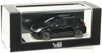 完成树脂型号1/43 SUBARU XV水晶黑色·二氧化硅[WIT'S]《没有库存》