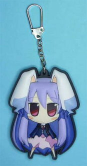 Touhou Project - Akaneya Rubber Keychain: Udonge(Released)(東方プロジェクト 茜屋ラバー・キーホルダー うどんげ 単品)