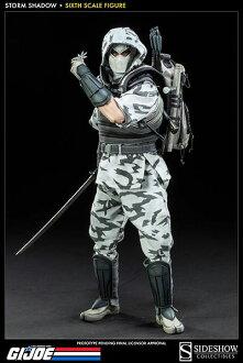 G.I. Joe 12 Inch Action Figure - Storm Shadow(Back-order)(G.I.ジョー 12インチアクションフィギュア ストーム・シャドウ 単品)