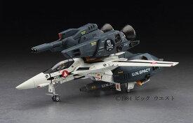 """超時空要塞マクロス 1/48 VF-1S/A ストライク/スーパーバルキリー """"スカル小隊"""" プラモデル(再販)[ハセガワ]《発売済・在庫品》"""