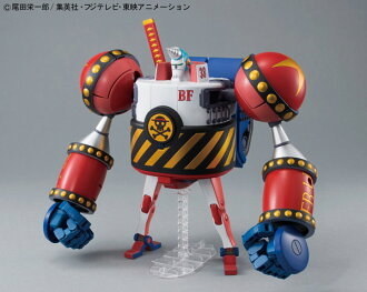 Best Mecha Collection - ONE PIECE: General Franky Plastic Model(Released)(ベストメカコレクション ワンピース フランキー将軍 プラモデル)