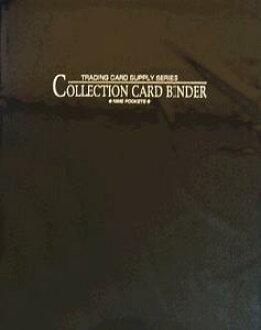 Yanoman Collection Card Binder 9-Pocket (4 Hole/Black)(Released)(やのまん コレクション カード バインダー・9ポケット(4穴式・黒))