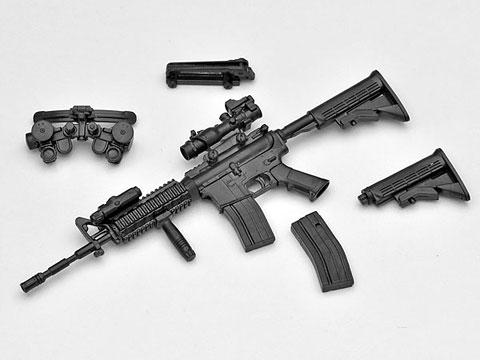 リトルアーモリー LA001 1/12 M4A1タイプ プラモデル(再販)[トミーテック]《発売済・在庫品》