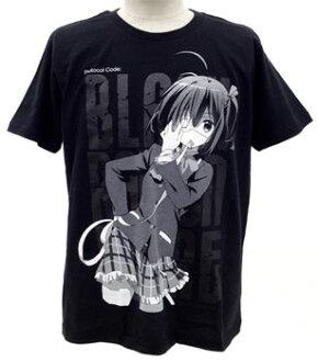 Chuunibyou demo Koi ga Shitai! - Rikka Takanashi T-shirt / BLACK - M(Pre-order)(中二病でも恋がしたい! 小鳥遊六花 Tシャツ/ブラック-M)