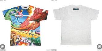 Sega Retro Game T-shirt Collection - Space Harrier Full Print T-shirt / XL(Back-order)(セガ・レトロゲームTシャツコレクション スペースハリアー フルプリントTシャツ-XL)