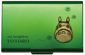 スタジオジブリ作品 (1)となりのトトロ メタルカードケース/グリーン(Studio Ghibli Works (1) My Neighbor Totoro - Metal Card Case / Green(Released))
